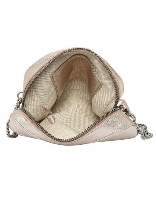 Balti Pembe Logo Kabartmalı Kadın Deri Çanta