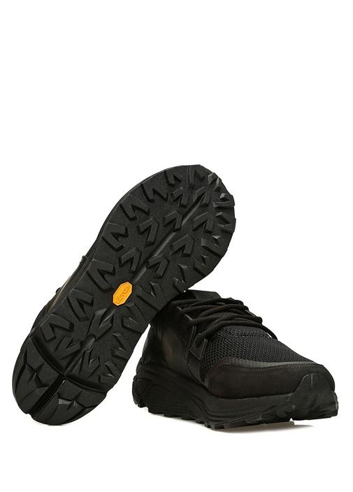 Sonic Siyah Erkek Süet Sneaker