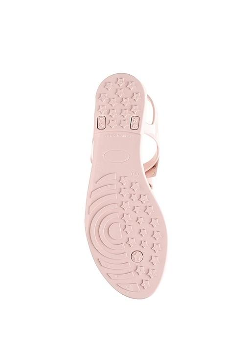 Pembe Fiyonk Detaylı Kadın Sandalet
