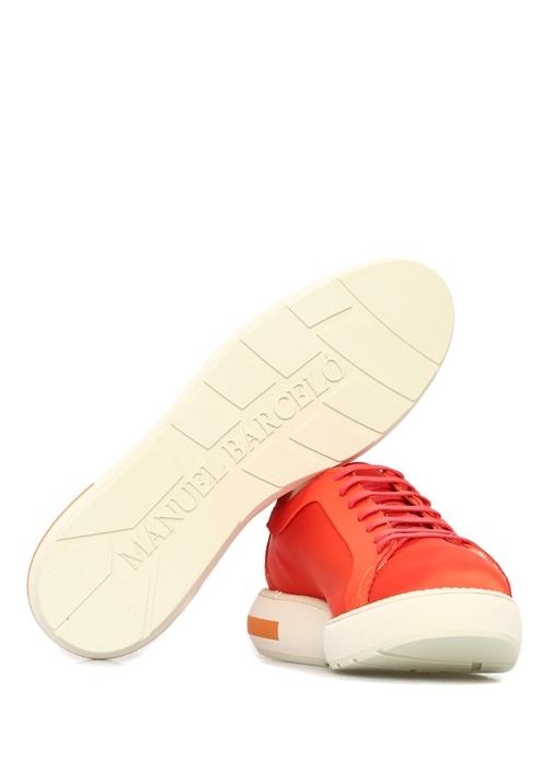 Livmi Kırmızı Platformlu Kadın Sneaker