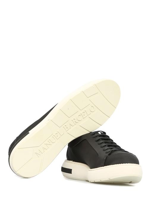 Livmi Siyah Platformlu Kadın Sneaker