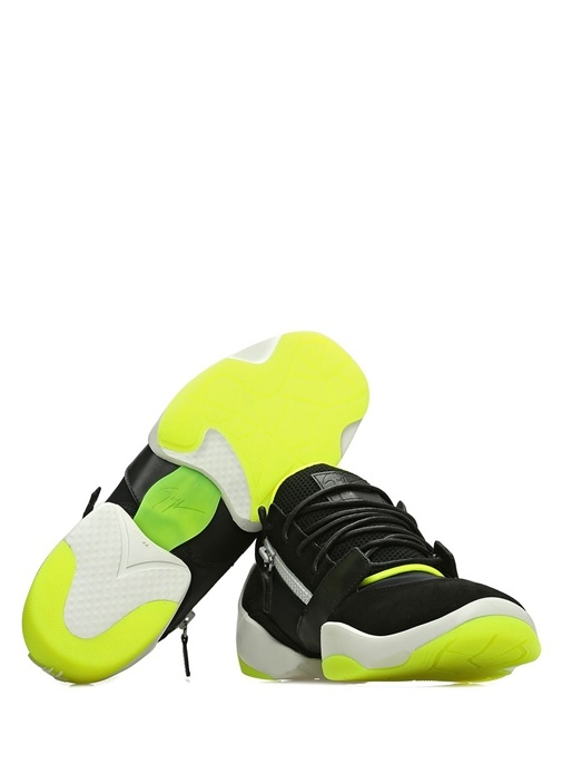 Jump Siyah Taban Detaylı Erkek Süet Sneaker