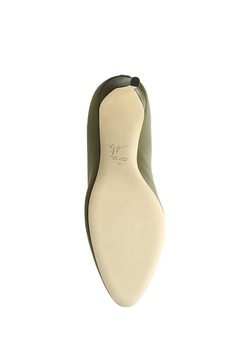 Celeste Haki Çorap Formlu Kadın Bot