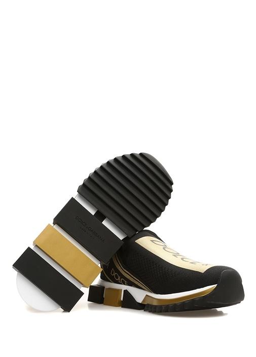 Sorrento Siyah Gold Çorap Formlu Erkek Sneaker