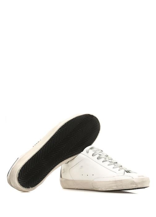 Superstar Beyaz Silver Erkek Deri Sneaker