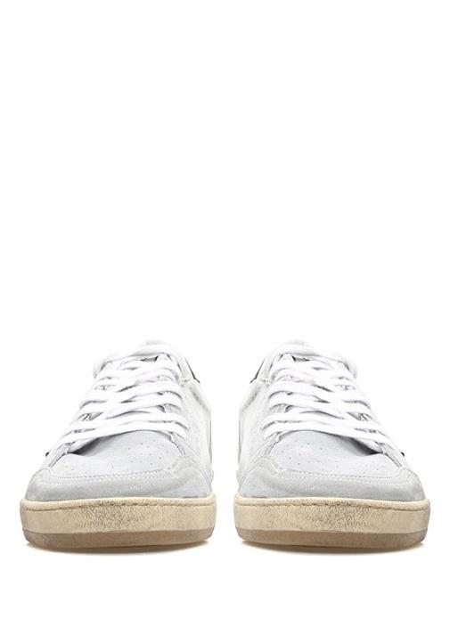 Ball Star Gri Siyah Erkek Deri Sneaker