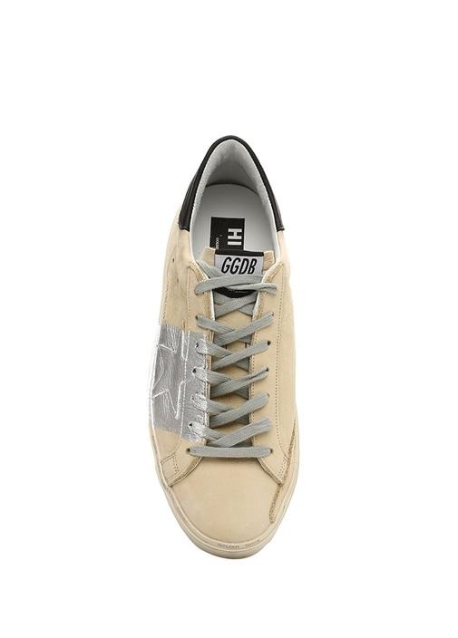 Hi Star Vizon Baskı Detaylı Erkek Deri Sneaker