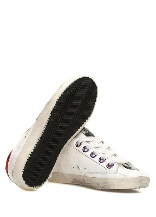 Superstar Beyaz Kadın Deri Sneaker