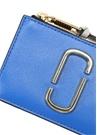 Lacivert Gold Logo Detaylı Kadın Deri Cüzdan