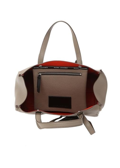 Vizon Dokulu Kadın Deri Çanta