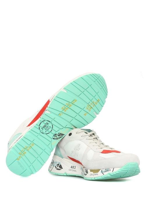 Mase Beyaz Baskı Detaylı Erkek Sneaker