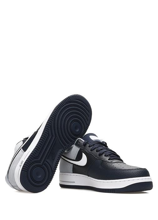 Air Force 1 07 Lacivert Erkek Deri Sneaker