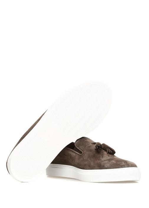 Brett Kahverengi Erkek Süet Sneaker