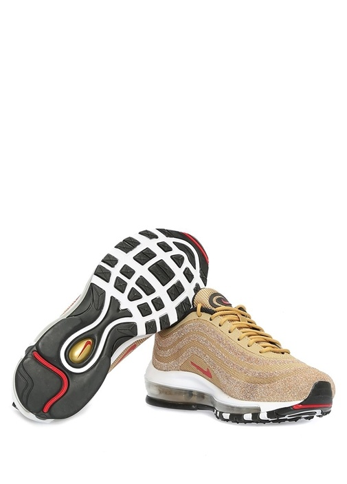 Air Max 97 Gold Çizgili Logolu Kadın Sneaker