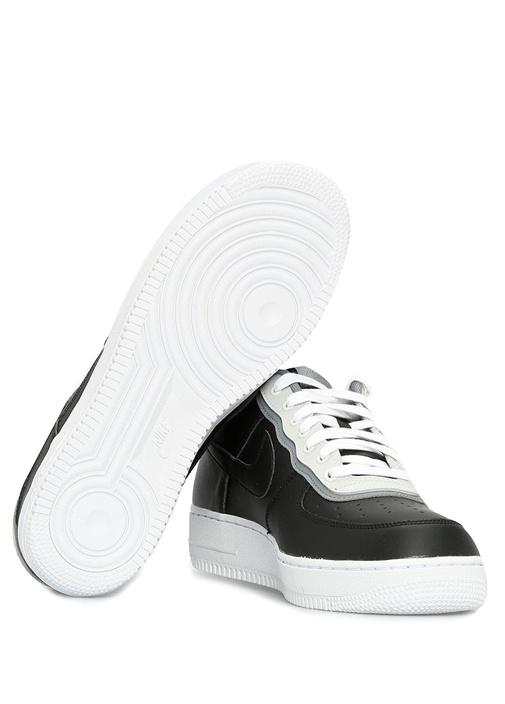 Air Force 1 07 Lv8 Siyah Beyaz Erkek Sneaker