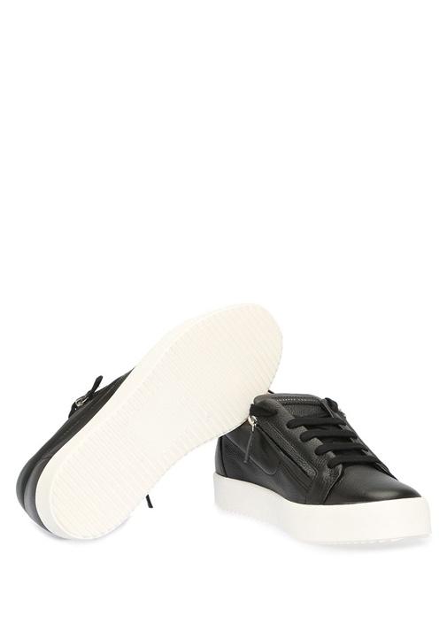 Arena Siyah Logolu Erkek Deri Sneaker