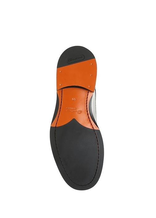 Kahverengi Çift Kemerli Kadın Deri Loafer
