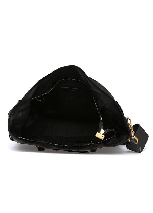 Trooper Baby Siyah Omuz Çantası