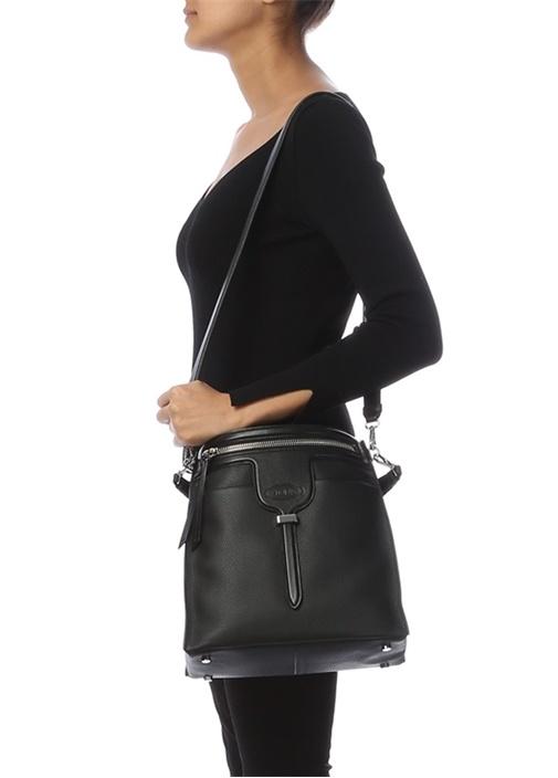 Thea Mini Siyah Kadın Deri Çanta