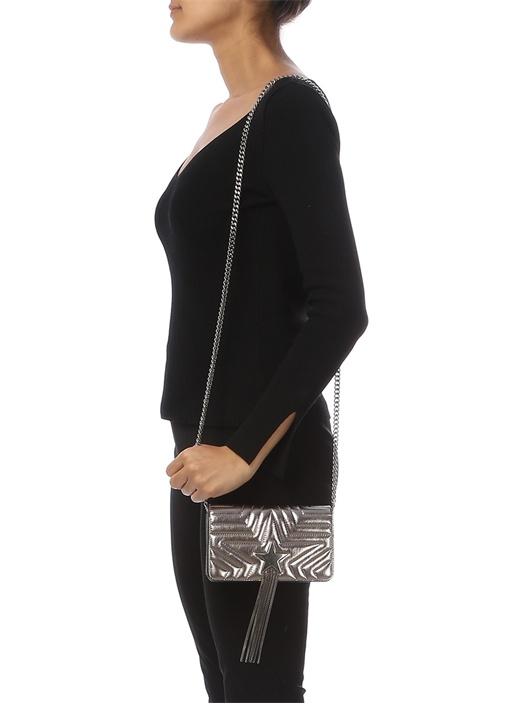 Stella Star Silver Zincir Püsküllü Kadın Çanta