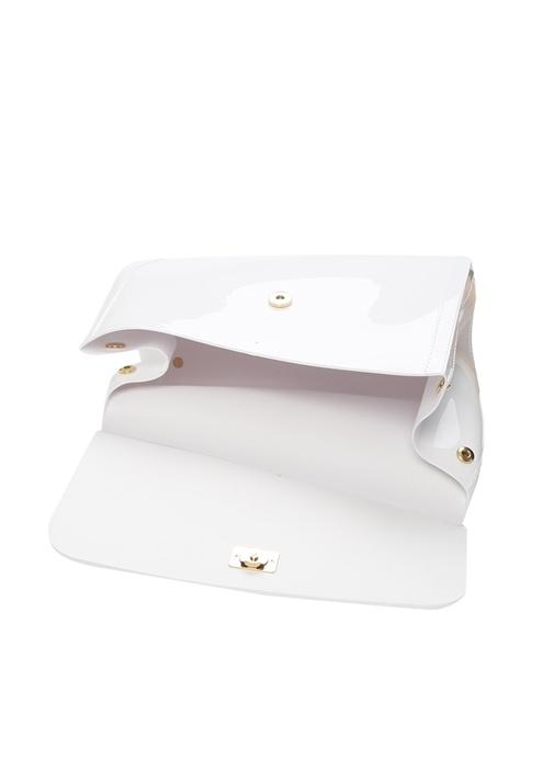 Sicily Beyaz Logolu Kadın Çanta
