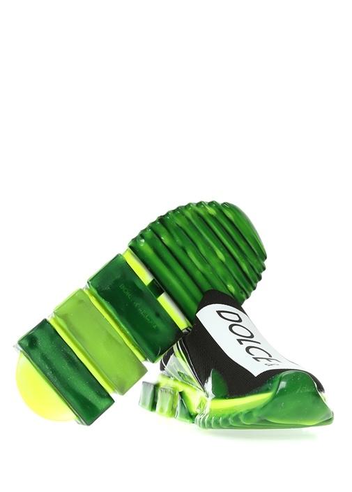 Sorrento Siyah Yeşil Taban Detaylı Erkek Sneaker