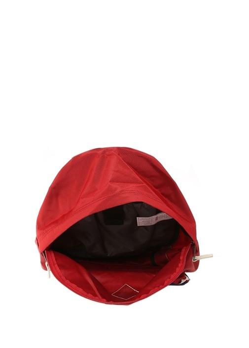 Wyoming Kırmızı Şeritli Logolu Kadın Sırt Çantası