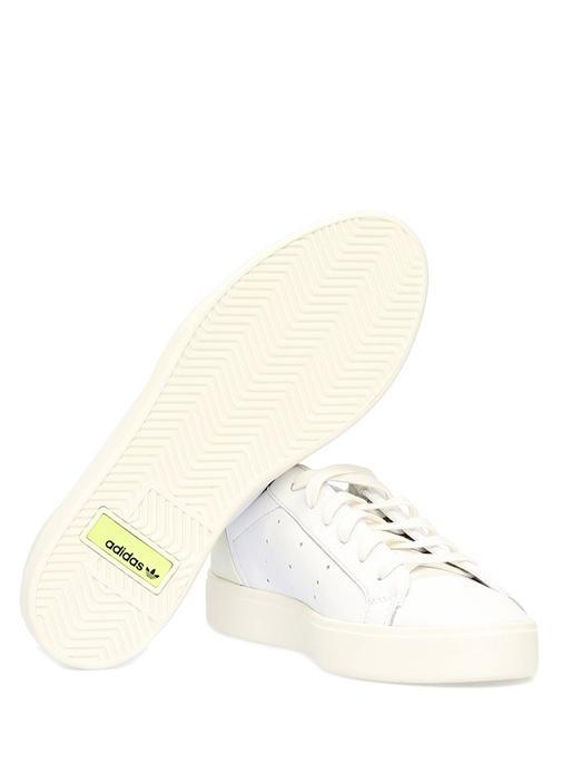 Sleek W Beyaz Kadın Sneaker