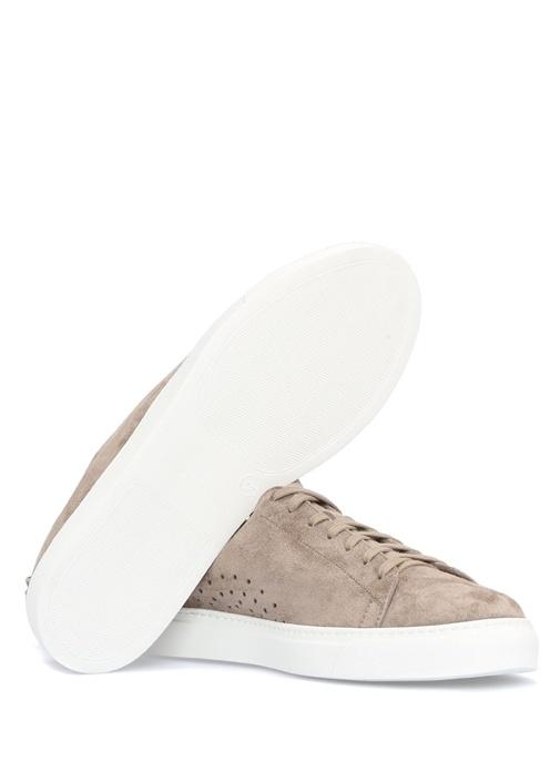 Tony Bej Deri Erkek Sneaker