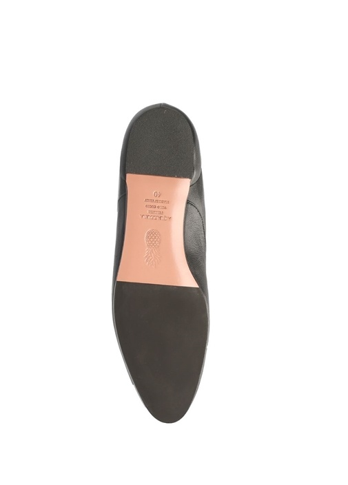 Touche Siyah Kadın Deri Çizme