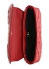 Kırmızı Logolu Kapitoneli Kadın Çanta