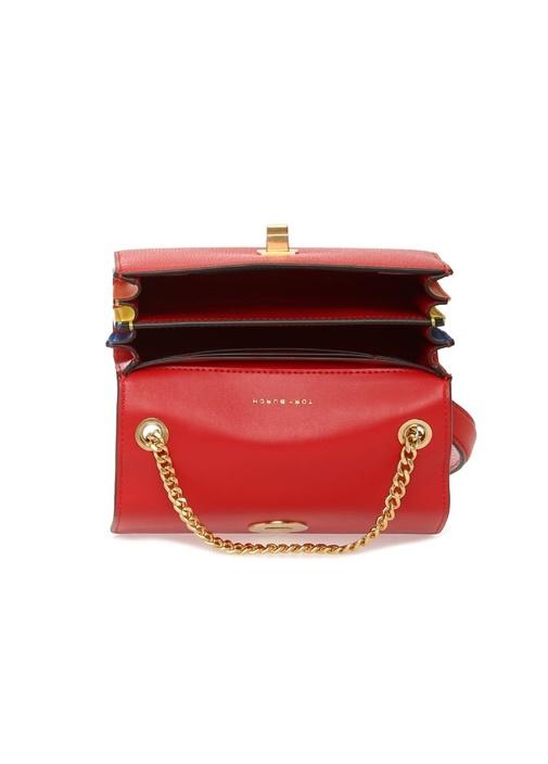 Kira Mini Kırmızı Logolu Kadın Deri Çanta