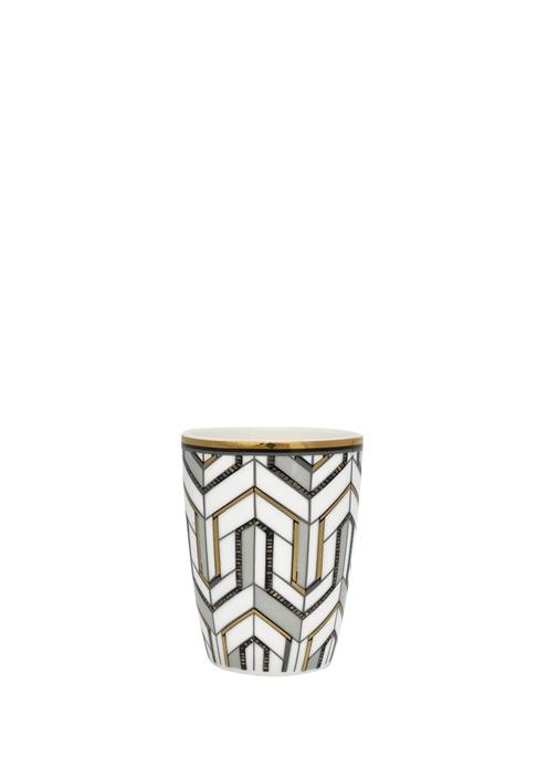 Gate Noir Maddie Beyaz Porselen Espresso Bardağı