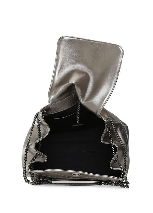 Nolita Small Metalik Bronz Kadın Deri Omuz Çantası