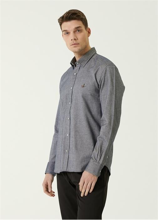 Comfort Fit Mai Polo Yaka Oxford Gömlek