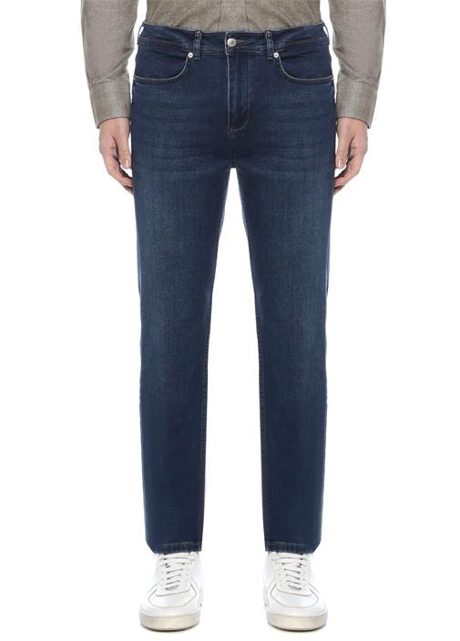 Slim Fit Lacivert Normal Bel Jean Pantolon