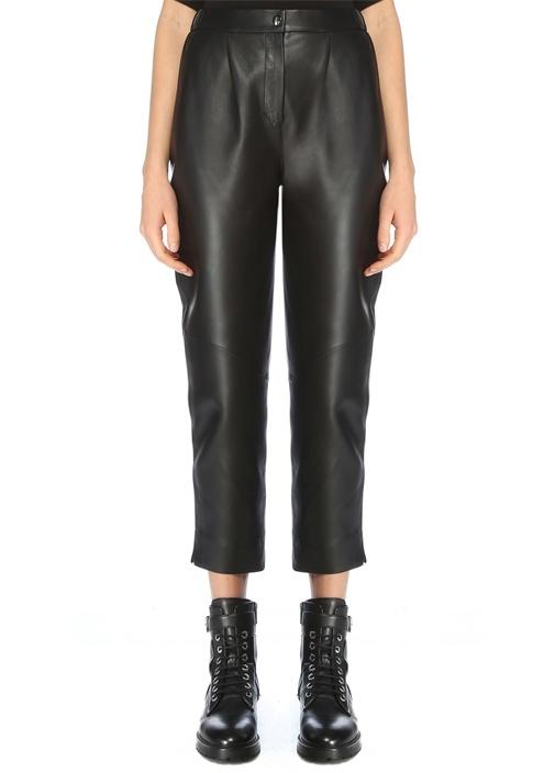 Siyah Havuç Kesim Pantolon