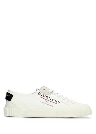 Givenchy Kadın Beyaz Logo Baskılı Sneaker 36 EU