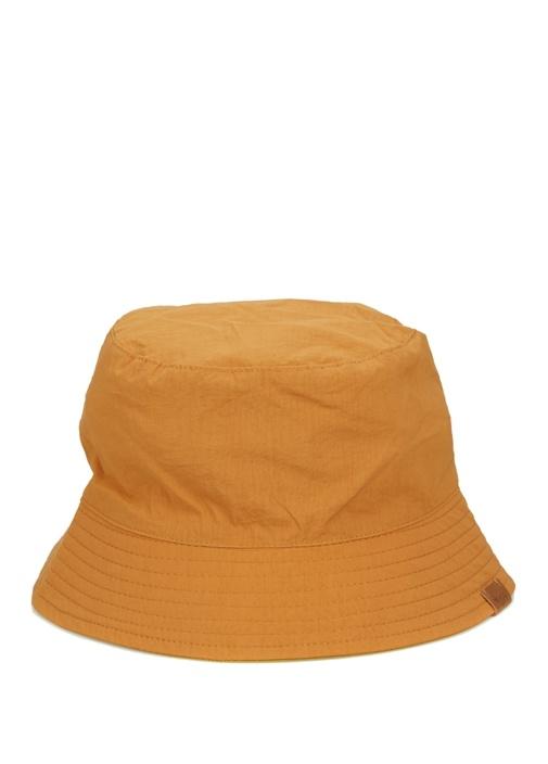 Turuncu Çift Taraflı Mini Balıkçı Erkek Şapka