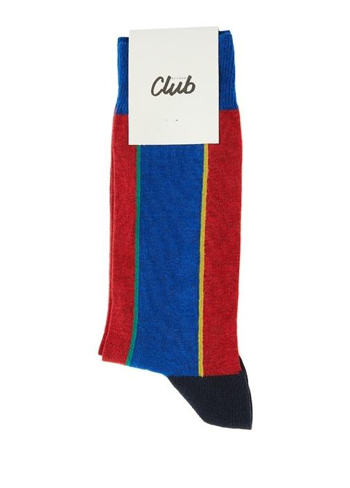 Colorblocked Detaylı Erkek Çorap