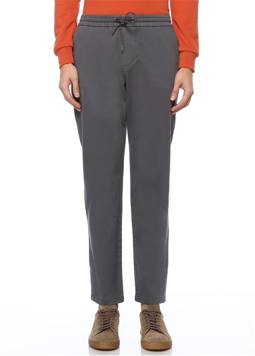 Gri Normal Bel Spor Pantolon