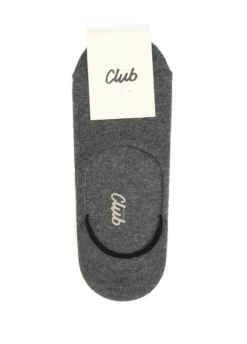 Antrasit Erkek Spor Ayakkabı Çorabı