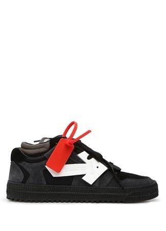 Off-White Kadın 3 0 Low Siyah Beyaz Sneaker 36 EU