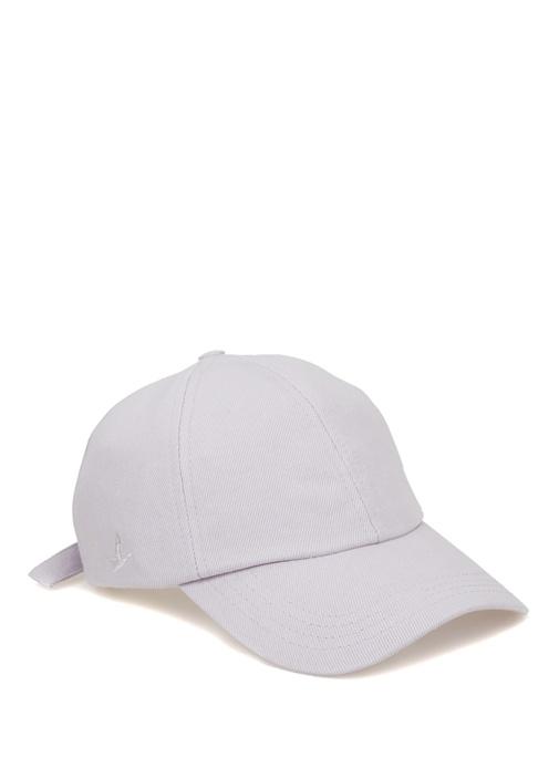 Lila Logo Nakış Detaylı Kadın Şapka
