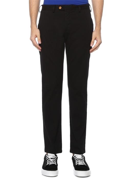 Regular Fit Siyah Chino Pantolon