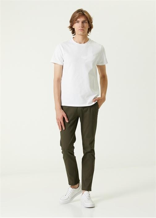 Slim Fit Haki Chino Pantolon
