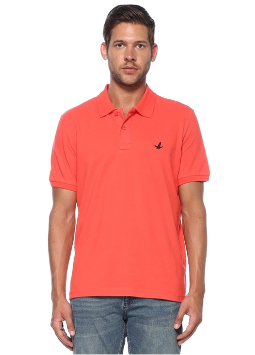 Comfort Fit Mercan Polo Yaka T-shirt