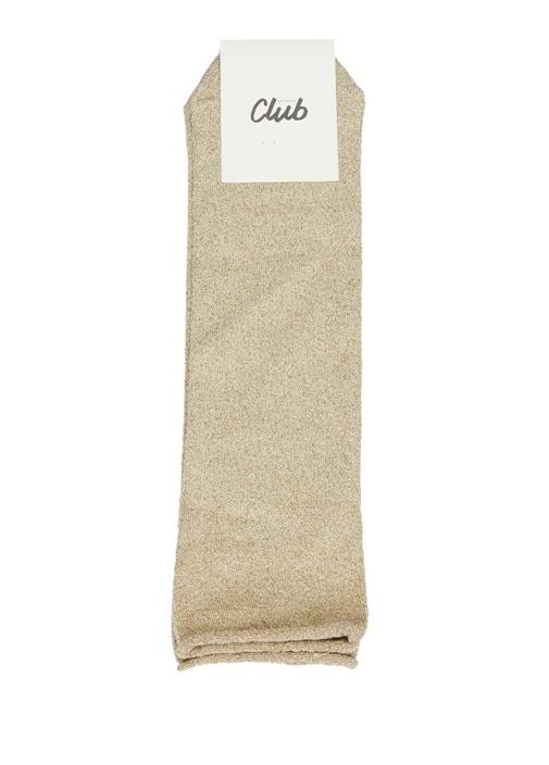 Nude Sim Dokulu Kadın Çorap