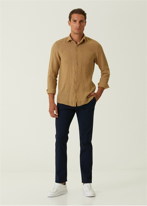 Regular Fit Lacivert Spor Pantolon