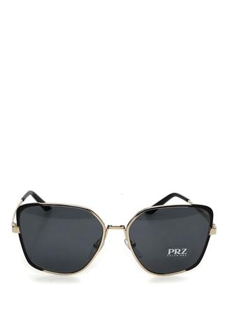 Prada Kadın Siyah Gold Güneş Gözlüğü Altın Rengi 59 EU